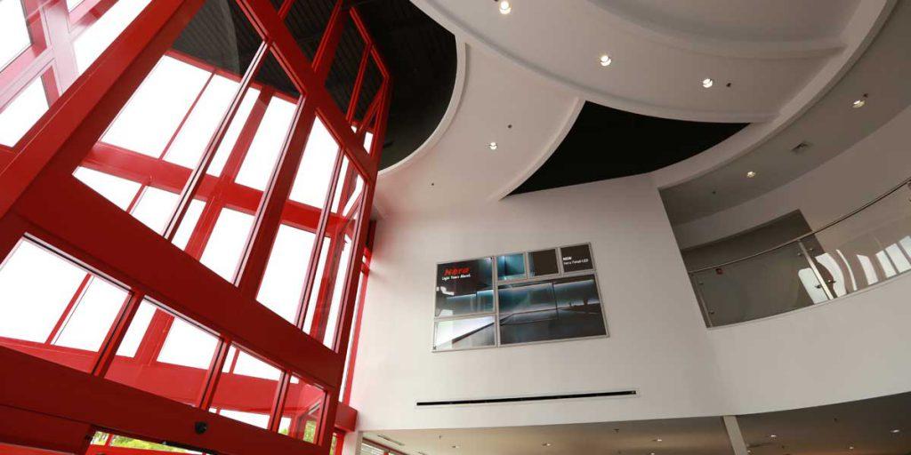 Hera Lighting lobby